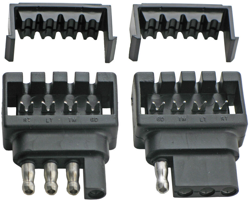 Compare Quick Fix Tm Vs Adapter 4 Pole To 7 Vehicle End Trailer Connector Tow Ready Wiring 30717 Hopkins Connectors 48195