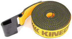 "Kinedyne Tie-Down Strap for Truck and Trailer Winch - Flat Hook - 2"" x 25' - 3,335 lbs"