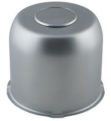 "Trailer Wheel Center Cap, Chrome, 4.82"" Pilot Size"