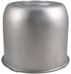"Trailer Wheel Center Cap, Stainless Steel, 4.90"" Pilot Size"