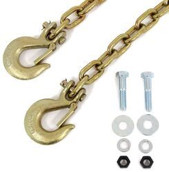 "Tow Ready Safety Chain Kit with Clevis Hooks - 44"" Long - 16,000 lbs - Qty 2"