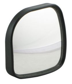 "Hot Spot Mirror 2"" x 2"" Square Convex Stick On"