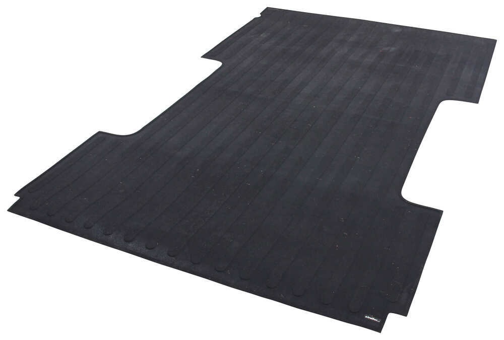 Westin Custom Fit Truck Bed Mat Rubber Black Westin