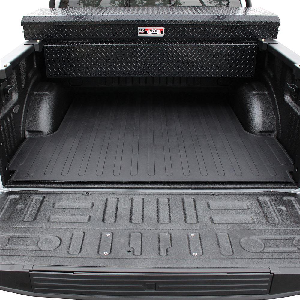 2016 ford f 150 westin custom fit truck bed mat rubber black. Black Bedroom Furniture Sets. Home Design Ideas