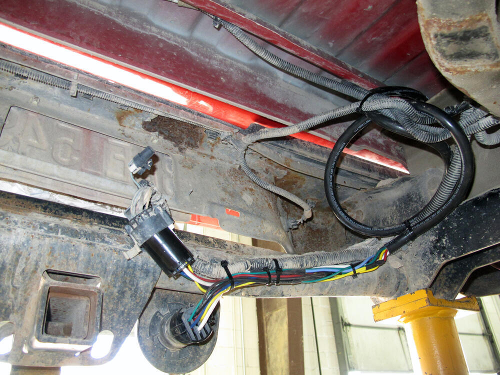 2005 dodge ram 1500 trailer wiring 2014 dodge ram pickup custom fit vehicle wiring - bargman