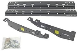 Fifth Wheel Trailer Hitch Custom Installation Kit with Brackets and Rails - Ford Super Duty 1999-04