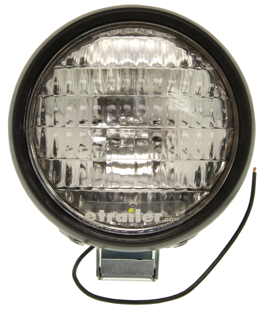 Tractor Utility Lights : Compare round tractor and vs clear utility light