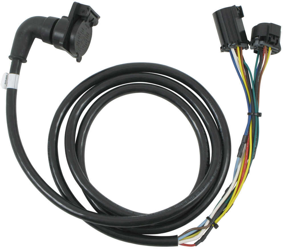 5th Wheel/Gooseneck 90-Degree Wiring Harness w/ 7-Pole Plug -