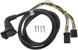 5th Wheel/Gooseneck 90-Degree Wiring Harness w/ 7-Pole Plug - Dodge - 9' Long
