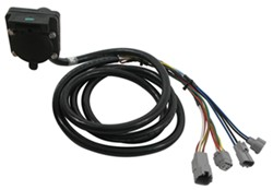 5th Wheel/Gooseneck 90-Degree Wiring Harness w/ 7-Pole Plug - Toyota - 9' Long