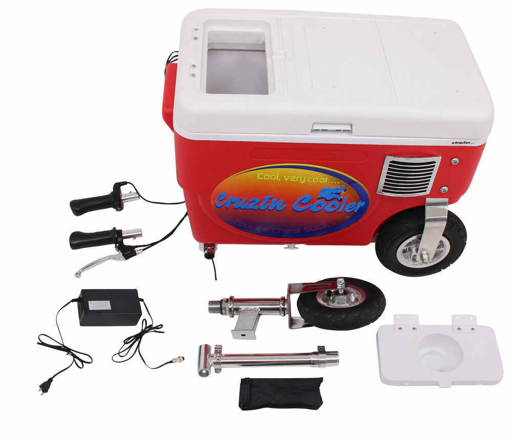 Cruzin cooler electric scooter cooler 1 000 watt 48v for Coole accessoires