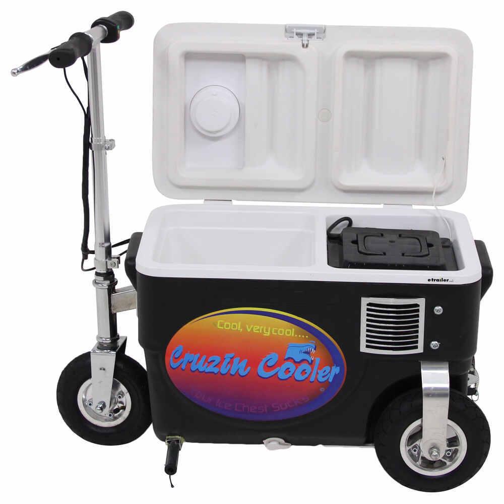 Cruzin Cooler Electric Scooter Cooler - 300 Watt - 24v - 25 Qts