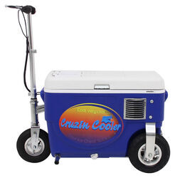 Cruzin Cooler Electric Scooter Cooler - 500 Watt - 24V - 25 Qts - Blue