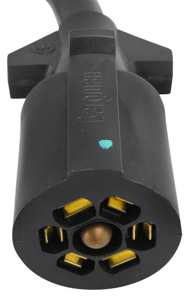 Bargman 7-pole Round Connector W   Hardware