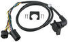 5th Wheel/Gooseneck 90-Degree Wiring Harness w/ 7-Pole Plug - GM, Ford, Dodge, Toyota - 7' Long