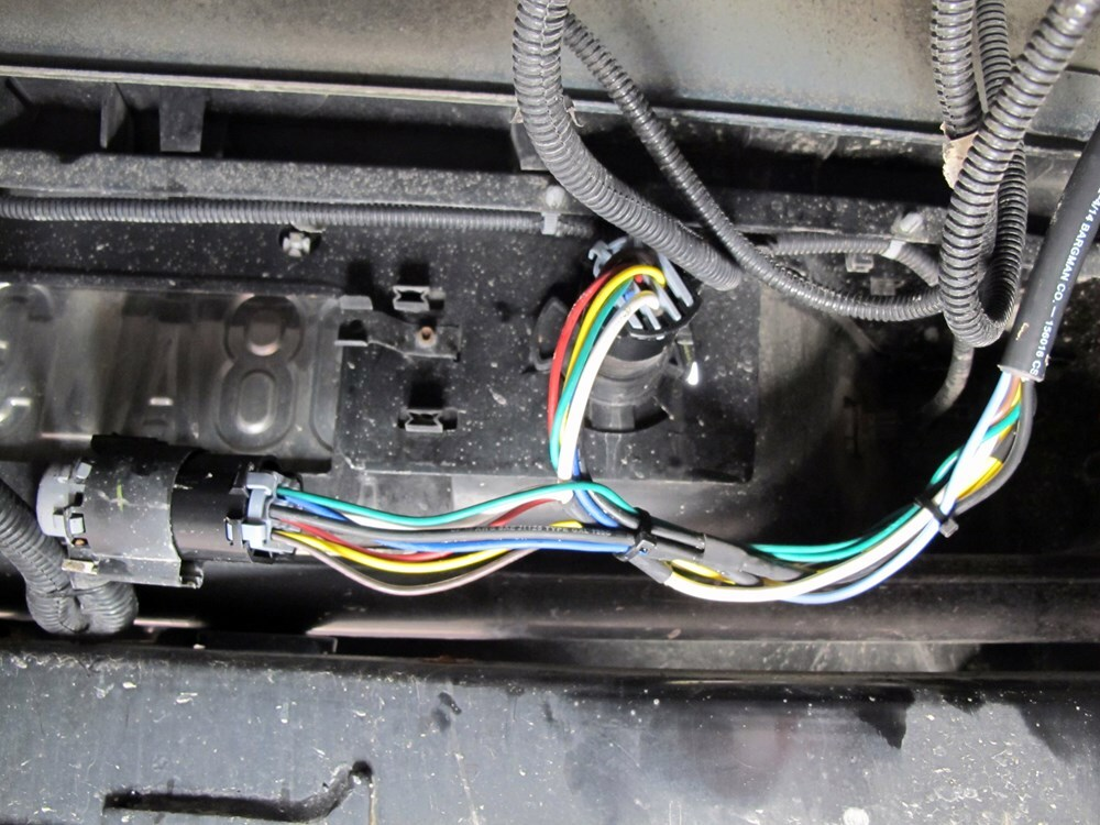 For 2013 Chevrolet Silverado 4 Bargman Custom Fit Vehicle Wiring 54701