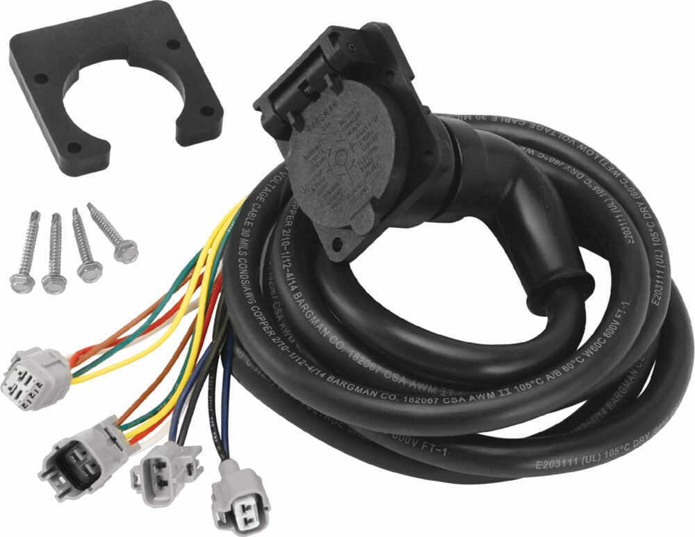 5th wheel  gooseneck 90 degree wiring harness w  7 pole triton trailer wiring harness