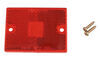 peterson accessories and parts  rectangle replacement red lens for rectangular side marker light w/ reflector - old style