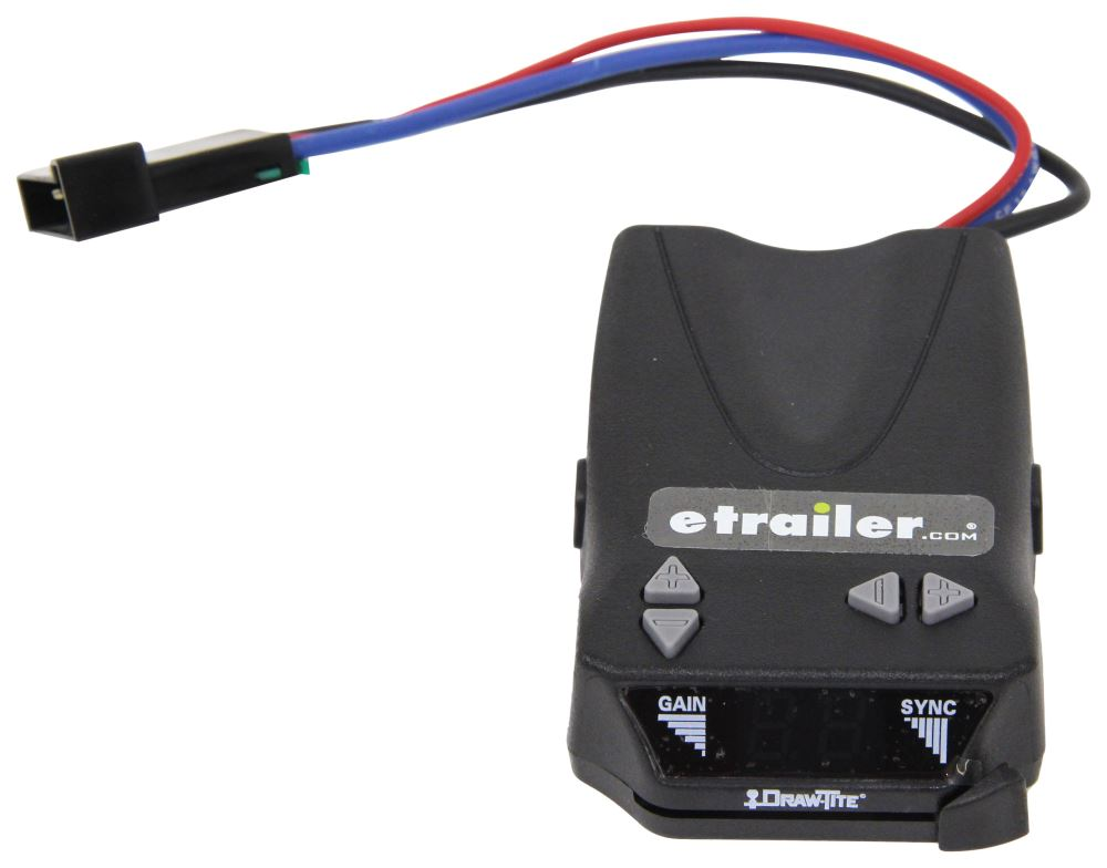 draw-tite activator iv trailer brake controller - 1 to 4 axles - time  delayed draw-tite brake controller 5504
