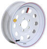 "Taskmaster Steel Modular Trailer Wheel - 15"" x 5"" Rim - 5 on 4-1/2 - White"