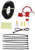 55151 - Power Wire Installation Kit Curt Wiring