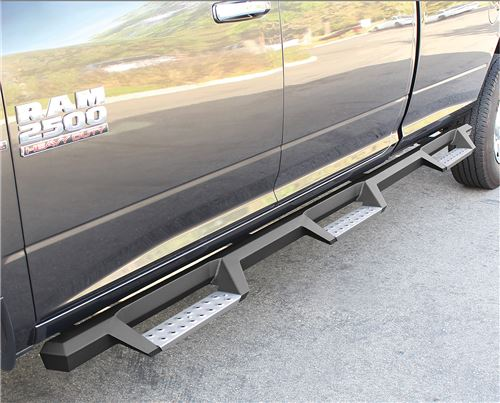 "What Is Freight Shipping >> 2018 Ram 2500 Westin HDX Nerf Bars with Drop Steps 4"" - Black Powder Coated Stainless Steel ..."
