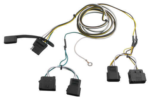 2011 ford ranger curt t connector vehicle wiring harness. Black Bedroom Furniture Sets. Home Design Ideas