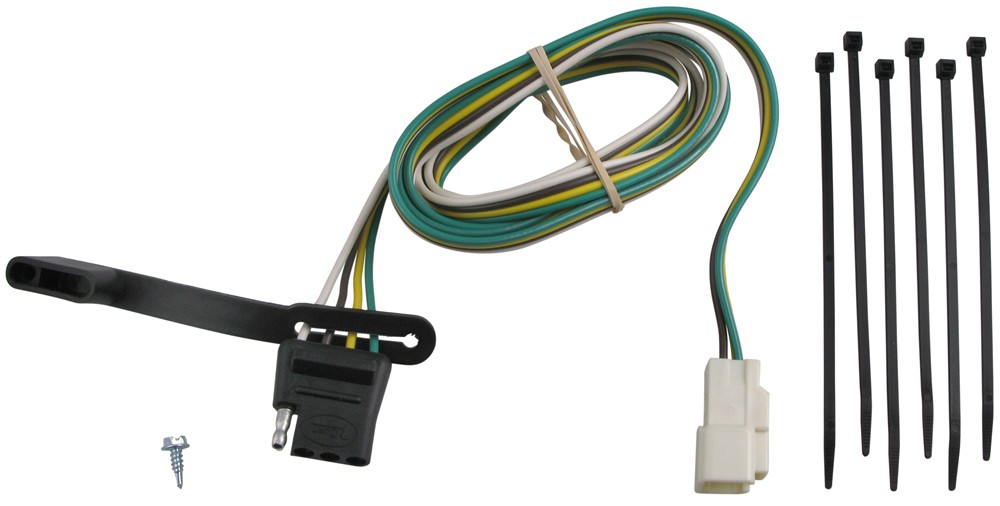 56042 - 4 Flat Curt Custom Fit Vehicle Wiring