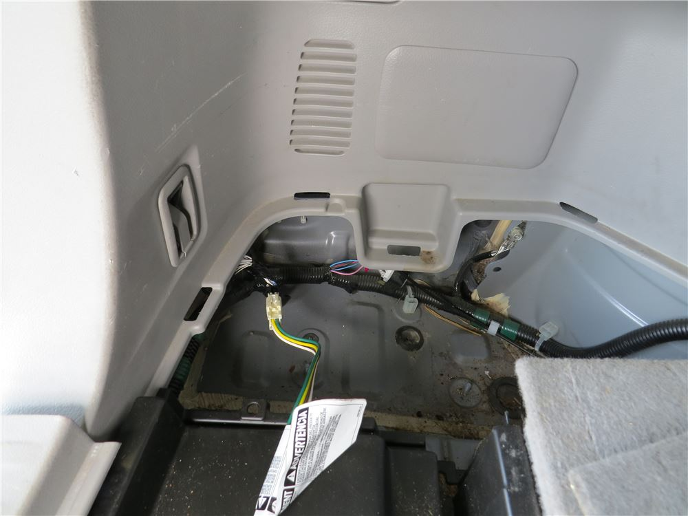2008 Toyota Highlander Custom Fit Vehicle Wiring
