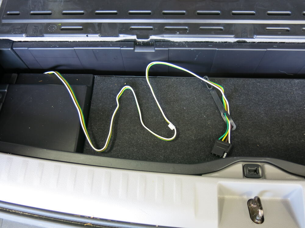 2016 Toyota Highlander Curt T-connector Vehicle Wiring Harness For Factory Tow Package