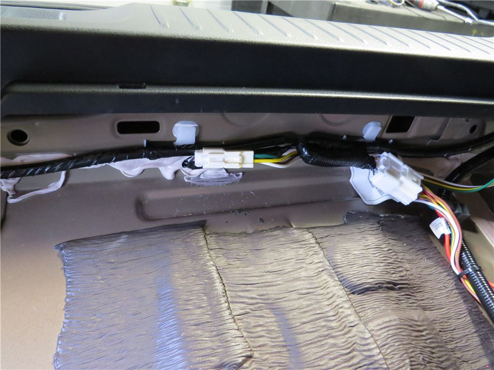 2017 Toyota Highlander Curt T Connector Vehicle Wiring