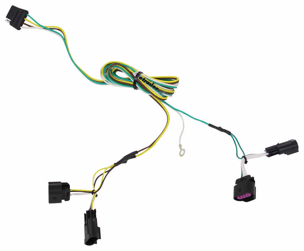 Compare T One Vehicle Wiring Vs Curt Connector Tconnector Harness With 4pole Flat Trailer 56094 4 Hitch