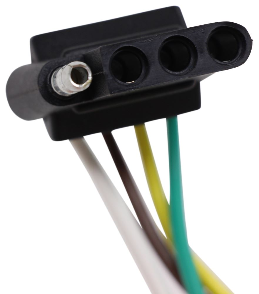 Compare T One Vehicle Wiring Vs Curt Connector Tconnector Harness With 4pole Flat Trailer Hitch 56094 Custom Fit 4