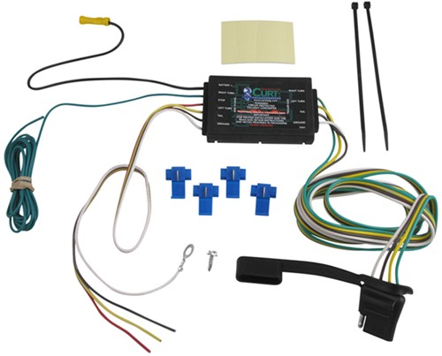 Curt Trailer Plug Wiring Diagram : Curt circuit protected powered converter w smt