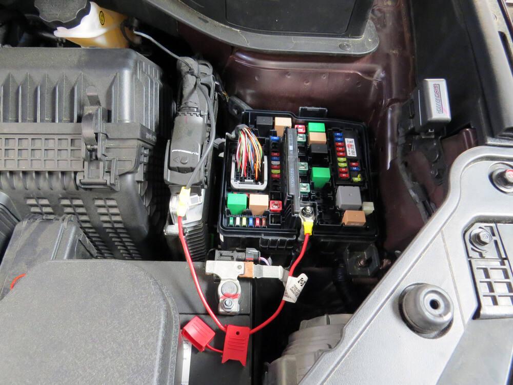 Trailer wiring harness installation kia sportage