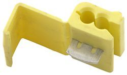 Quick Splice Wire Connector - Yellow - 10-12 AWG (Qty 1)