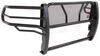 westin grille guards full coverage guard steel hdx with punch plate - black powder coated