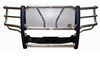 westin grille guards full coverage guard 2 inch tubing hdx winch mount with punch plate - polished stainless steel