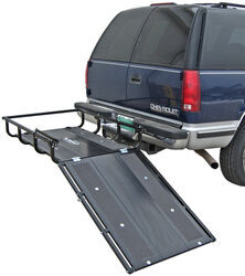 "48x32 Cargo Carrier with Side Rails and Ramp - The Moover Transporter System for 2"" Hitches"