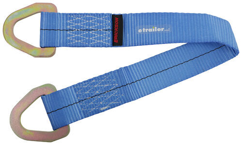 New 2 In X 13 Ft Ratchet Strap /& 16 In Axle Strap, 4