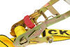 erickson ratchet straps trailer truck bed 1-1/8 - 2 inch wide tie-down strap w/ web clamp and double j-hooks x 30' 3 300 lbs