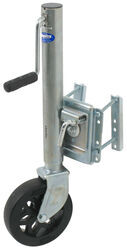 "Shelby Bolt-On Trailer Jack, Sidewind Swivel with 8"" Wheel - 1,500 lbs."