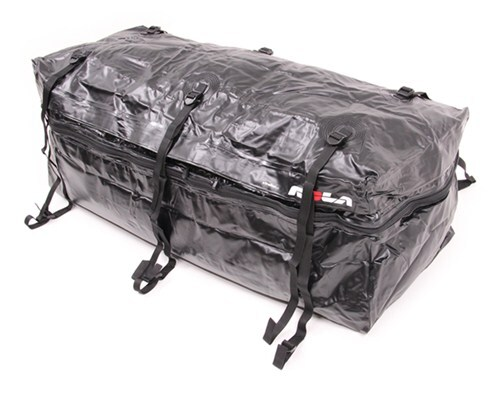 rola hitch cargo carrier bag small capacity 48l x 19w 22h inch expandable - water resistant 9-1/2 to 11-1/2 cu ft