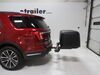 59109 - 27 Inch Wide Rola Hitch Cargo Carrier on 2018 Ford Explorer