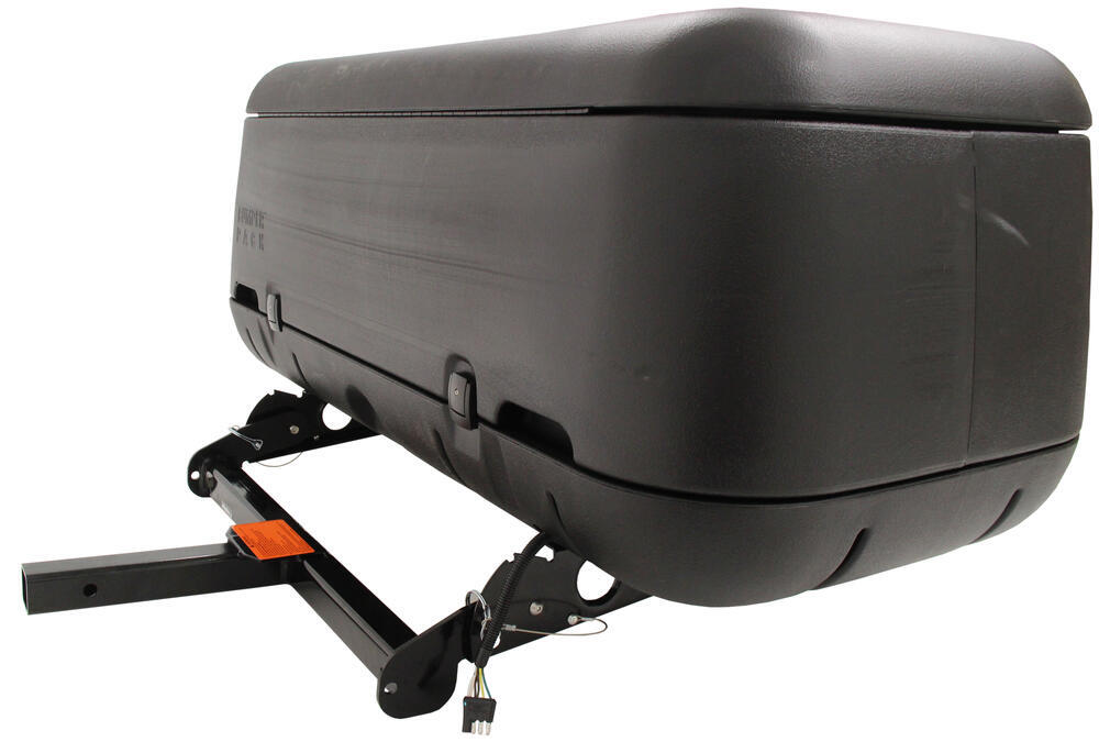 large enclosed hitch cargo carrier