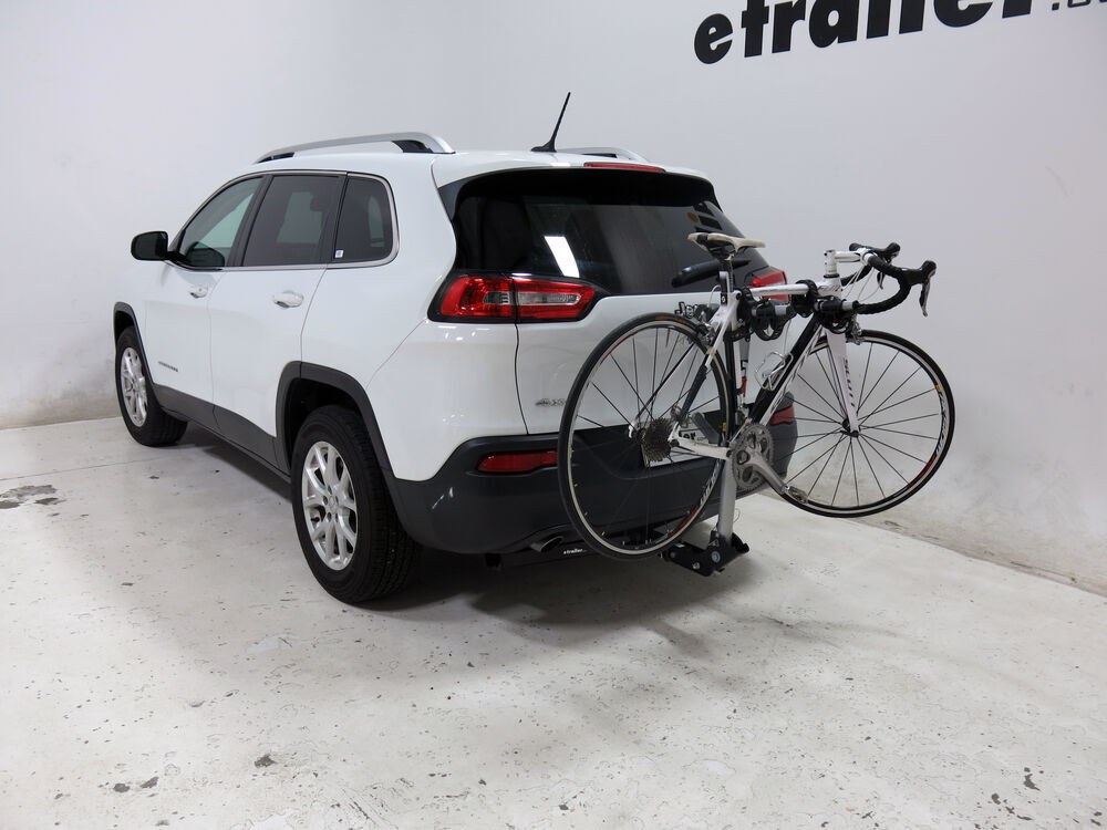 1992 jeep cherokee rola tx 102 2 bike rack for 1 1 4 and 2 hitches tilting. Black Bedroom Furniture Sets. Home Design Ideas