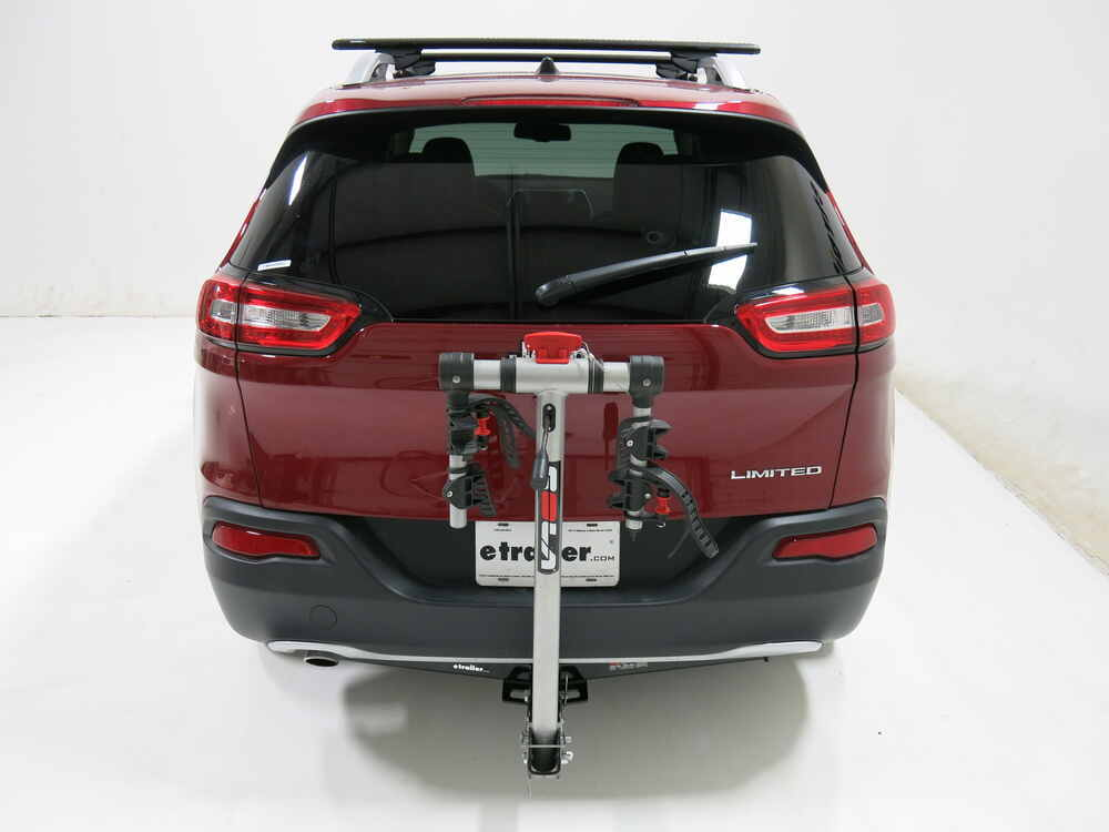 """Bike Rack For Jeep Renegade >> Jeep Cherokee Rola TX-102 2-Bike Rack for 1-1/4"""" and 2"""" Hitches - Tilting"""