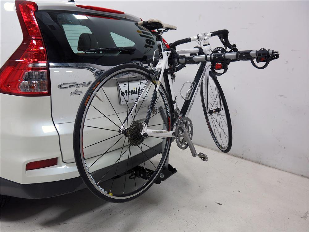 2016 Honda CR V Rola TX 104 4 Bike Rack For 2 Hitches