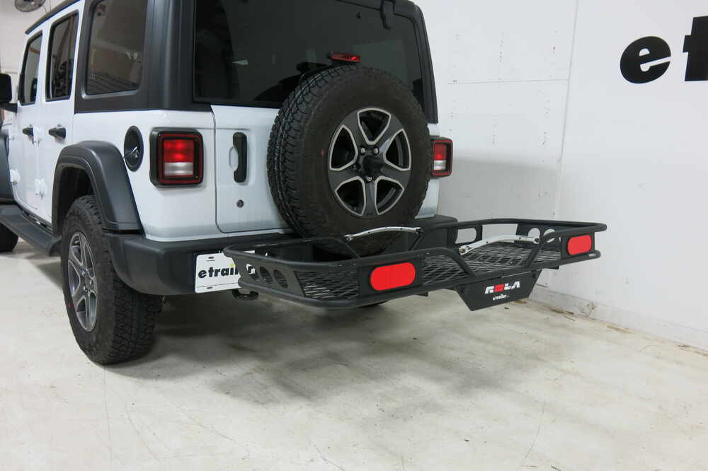 2172e87c414 59502 - Class III,Class IV Rola Hitch Cargo Carrier on 2018 Jeep JL Wrangler