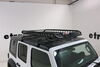 59504 - Round Bars,Square Bars,Aero Bars,Elliptical Bars,Factory Bars Rola Cargo Basket on 2018 Jeep JL Wrangler Unlimited